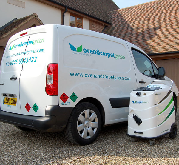 Oven, carpet and upholstery cleaning for businesses in Hertfordshire and Bedfordshire